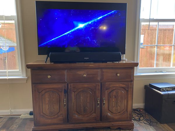Hutch, Tv Stand, Lighted Case, It's All Three!