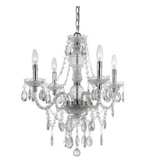 Chandelier, Pendant, Clear, lighting, light, lights. RETAIL $120 for Sale in Miami, FL
