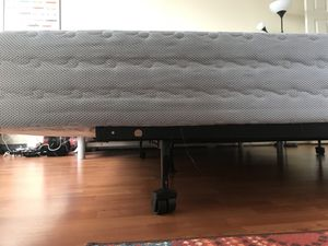 New Box Spring & Frame (Queen) for Sale in Silver Spring, MD