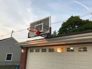First Team RoofMaster II Adjustable Basketball System for Sale in Atherton, CA