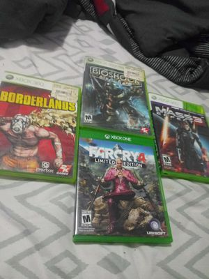 1 Xbox one game and 3 xbox 360 games for Sale in Wichita, KS