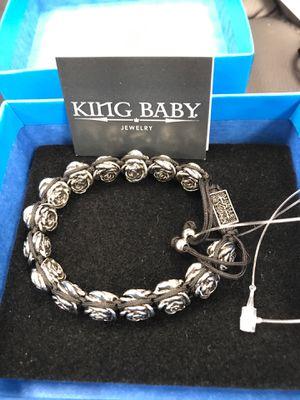 """King Baby - Roses """"Macrame"""" bracelet for Sale in Pico Rivera, CA"""