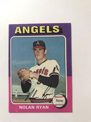Vintage Nolan Ryan Baseball Card for Sale in Raleigh, NC