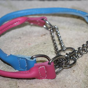 Rolled Leather Chain Martingale Collars *UPDATED* for Sale in Pelion, SC