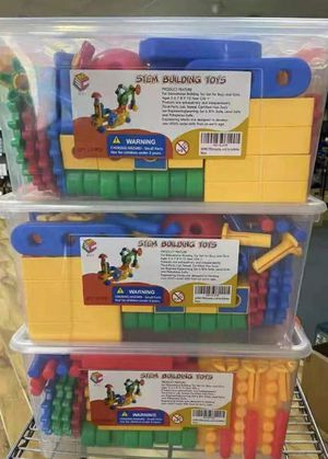 NEW IN BOX $15 each 121 pcs IQ Builder Stem Building Engineering Learning Building Educational Toy Set for Sale in Covina, CA