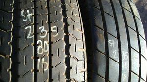 ST235 80 16 two good trailer tires $20each for Sale in Phoenix, AZ