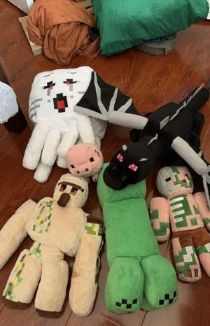 Minecraft plushies for Sale in Chino, CA