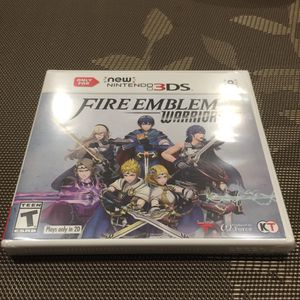 Brand new Nintendo 3DS Fire Emblem warriors for Sale in South San Francisco, CA