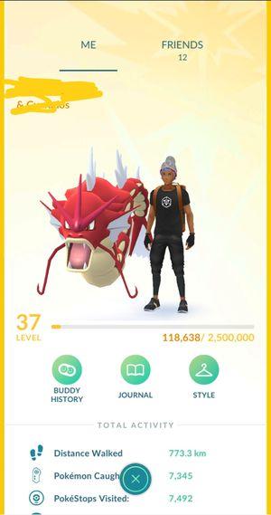 Pokemon go account level 37 with 200k stardust for Sale in Orange, CA