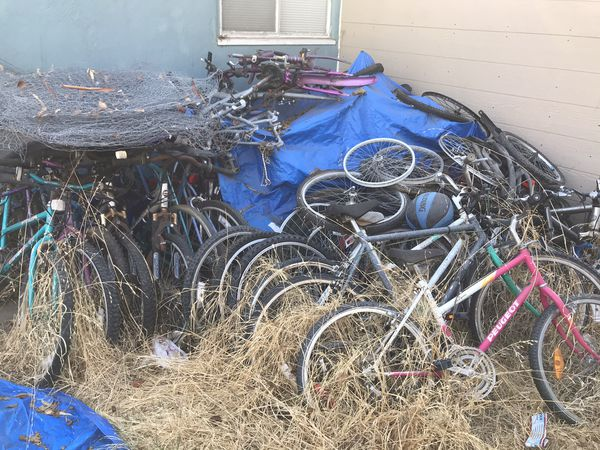 Tons of bikes and extra parts for one price package deal