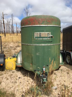 Two horse straight load trailer by Trojan 1958 for Sale in Colorado Springs, CO