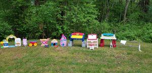 Kids Toys Desks, Kitchen, Tea Cart, Bed Rail, Castle Lights Up, Truck for Sale in Billerica, MA