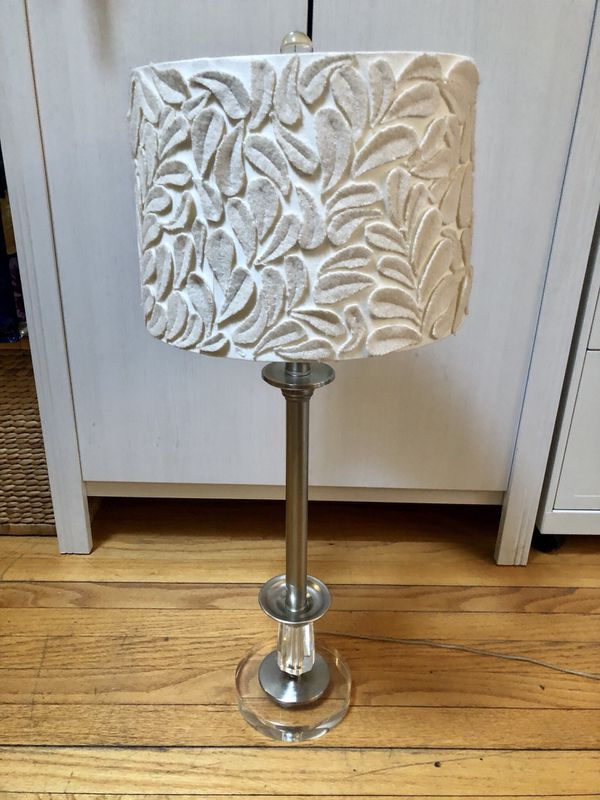 Lamp with Anthropologie Shade