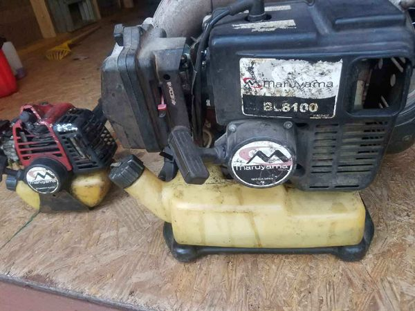 Backpack Blower & Trimmer Maruyama for Sale in Clayton, NC - OfferUp