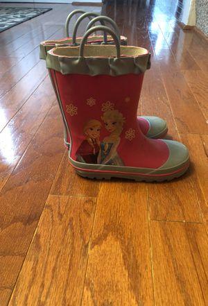 Frozen kids rain boots for Sale in Crofton, MD
