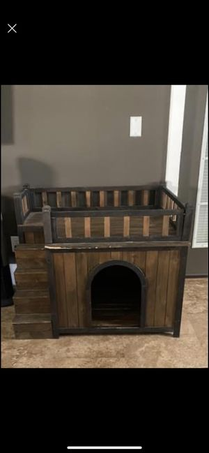 Wooden Dog House (Indoor Use) for Sale in Dade City, FL