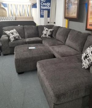 ((Sectional sold separately))) brand new. Ottoman only Couch living.. delivery available for Sale in Katy, TX