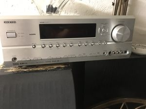 Onkyo home theater with 2 big JBL speakers for Sale in Miami, FL
