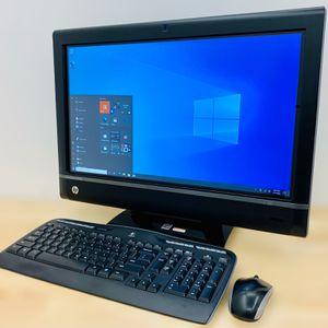 """HP Core i7 23"""" Full HD touchscreen PC desktop / Windows 10 Pro / WiFi / Antivirus / CD-DVD / Camera / Wireless keyboard & mouse for Sale in Fort Lauderdale, FL"""