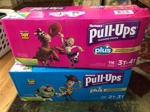 Huggies Pulls-Ups, 3T-4T and 2T-3T for Sale in North Miami, FL