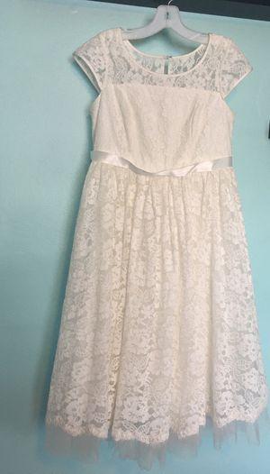 David's Bridal Lace Flower Girl/Communion Dress for Sale in Fort Lauderdale, FL