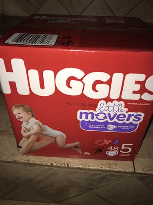 Huggies size 5 $18 firm on price for Sale in Glendale, AZ