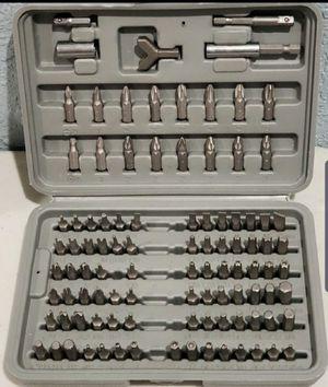 100 pieces screwdriver bit set for Sale in Huntington Beach, CA