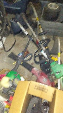 I have a nice poulan chainsaw I also have a nice echo leaf blower both run like new and both are in excellent shape for Sale in Wichita,  KS