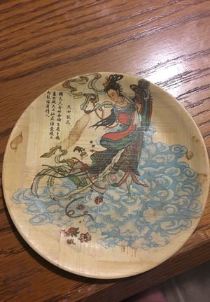 Bamboo plate for Sale in Denver, CO