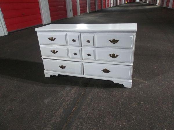 Lea Furniture Solid Wood Six Drawer Dresser