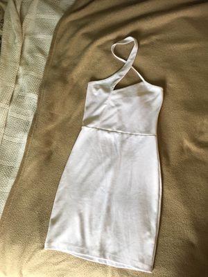 White cross halter top bodycon dress for Sale in Fairfax, VA