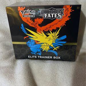 Pokémon Hidden Fates Elite Trainer Box ETB for Sale in Everett, WA