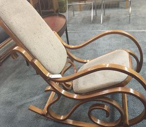 Vintage Thonet Style Bentwood Rocking Chair for Sale in Portland,  OR