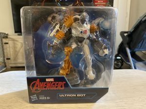 Hot Wheels & DISNEY PLAYMATION MARVEL AVENGERS ULTRON BOT VILLAIN SMART FIGURE for Sale in Escondido, CA