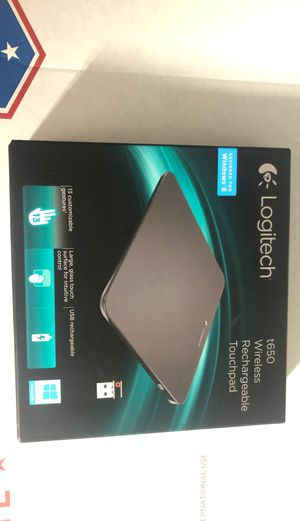 ☄️Logitech T650 Rechargeable Touchpad with Multi-Touch Navigation☄️ for Sale in Tacoma, WA