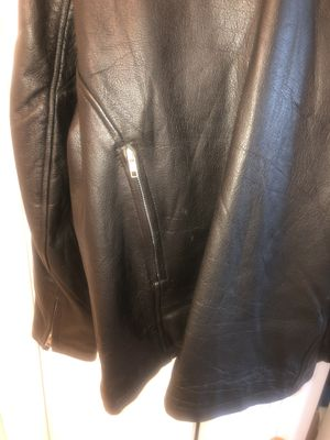 Motorcycle Leather Jacket. Men's size 48. (XL) for Sale in North Bay Village, FL