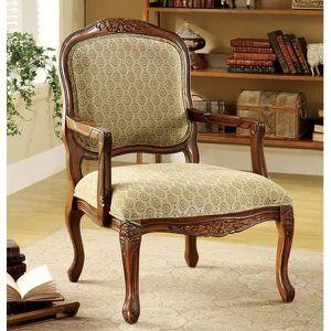 Furniture of America Errington Antique Oak Chair for Sale in Ontario, CA
