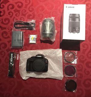 Camera DSLR Eos SL1 Bundle-NEW UNUSED for Sale in Rockville, MD