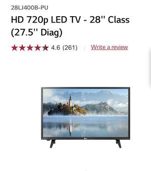 "LG LED TV 28"" 720p for Sale in Torrance, CA"