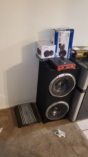 Subwoofers 12s, Amplifier , Speakers for Sale in Los Angeles, CA