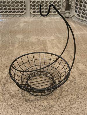 Fruit Basket w/ Banana Hook for Sale in Rockville, MD