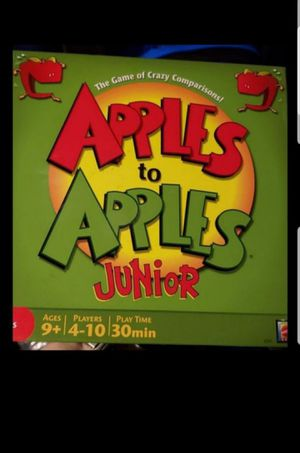 Apples to apples junior edition for Sale in Federal Way, WA