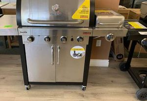 Brand New Stainless Steel Char-Broil BBQ Grill! OO for Sale in DeSoto, TX