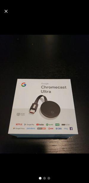 Chromecast ultra 4k for Sale in Orange Park, FL