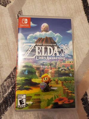 Legend of zelda: link's awakening Nintendo switch for Sale in Fort Worth, TX