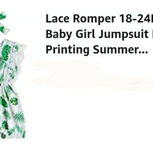 Baby Girl Lace Romper for Sale in Cottonwood, CA