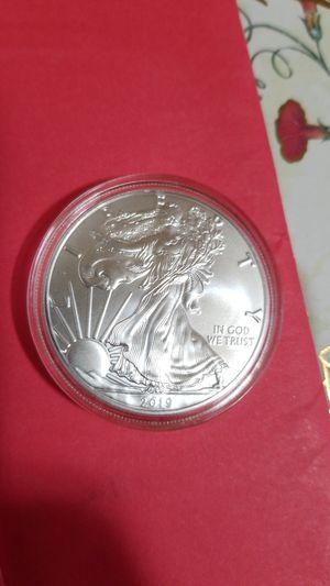 2019 U.S. Silver Eagle 1oz silver for Sale in Edmond, OK