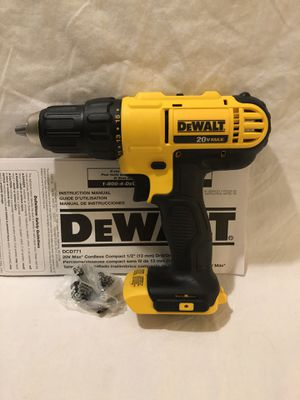Brand new never used Dewalt 20V drill driver. Tool only for Sale in Vacaville, CA