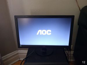 """AOC 20"""" LCD Monitor for Sale in Chicago, IL"""