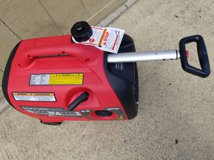 GENERATOR INVERTER I-POWER SC2300I SILENT 2 wheels and telescoping stainless steel handle TESTED STARTS FIRST PULL for Sale in Pomona, CA